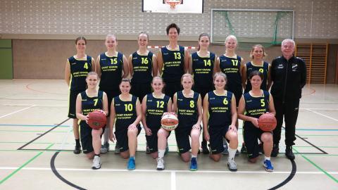 Mannschaftsfoto 2. Regionalliga Damen TV Vörden