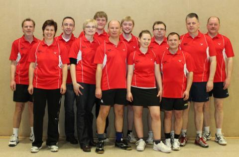 Badmintonmannschaft TV Vörden